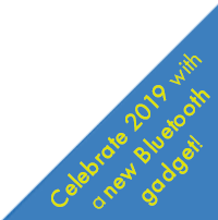 Celebrate new year with a new Bluetooth gadget!