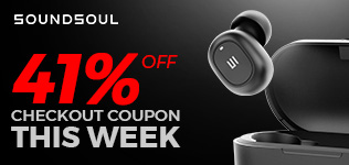 Soundsoul 41% Off Checkout Coupon this week