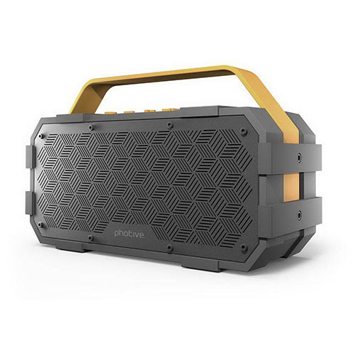 With a Bluetooth speaker you can take your music anywhere cable free!